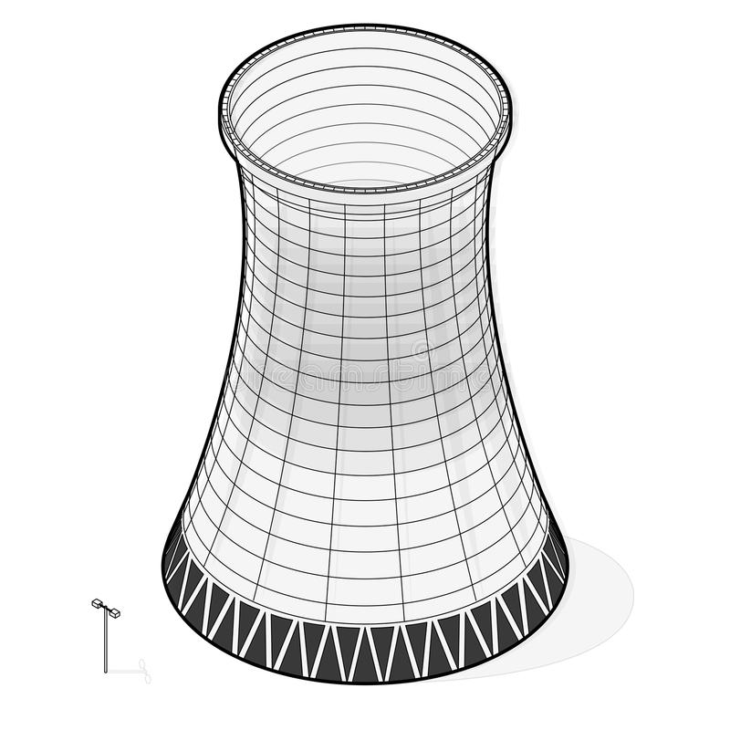 Thermal Power Plant Stock Illustrations