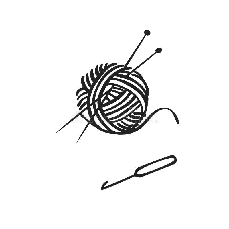 Knitting Stock Illustrations