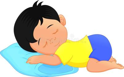 nap cartoon sleeping boy cute vector pillow clip napping illustration cartoons illustrations preview