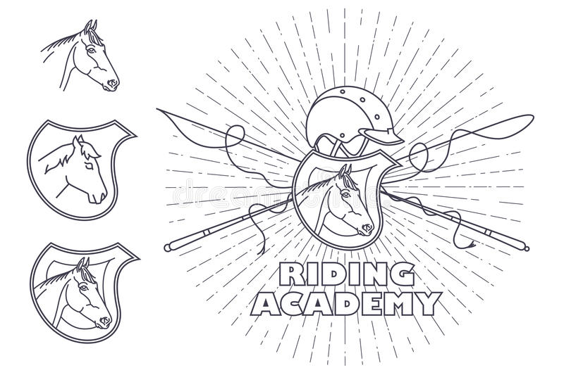Vector Template Wifh Eagle For The Design Of Diploma