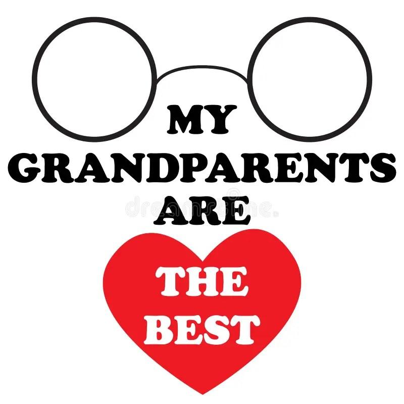 Download My grandparents stock illustration. Illustration of ...