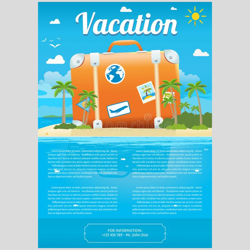 Vacation Brochure Template Vacation Brochure Template Vacation