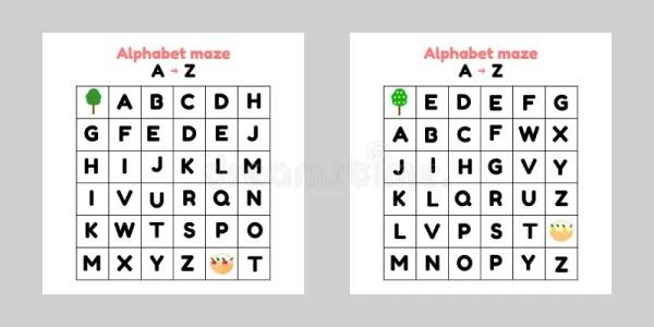 find the alphabet # 60