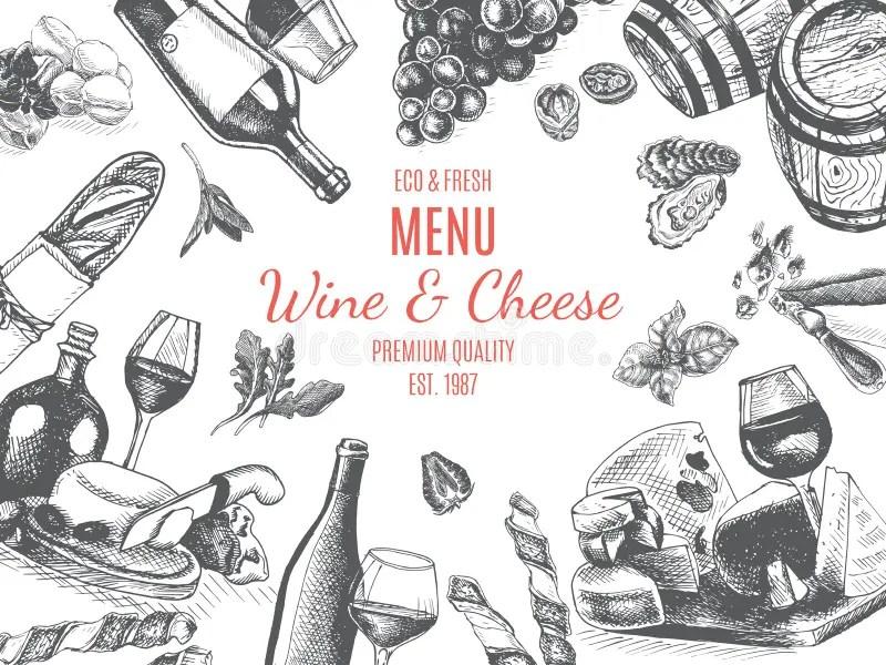 Italian Restaurant Menu Card Template Or Flyer Design