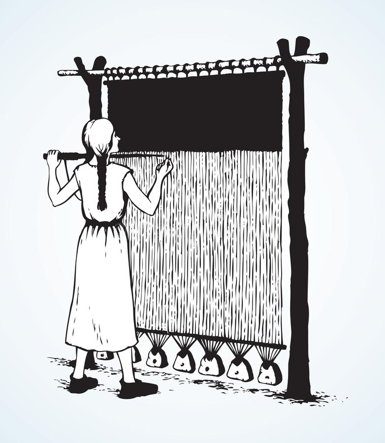 Loom Stock Illustrations
