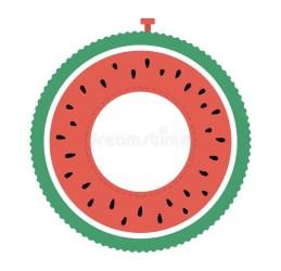 Summer Watermelon Clipart