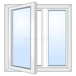 vector window open fenster ventana abierta venster janela okno offenes aperta finestra vettore vetor gymnastics beam aberta arcady breites ilustracion