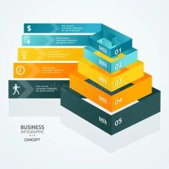Blank Pyramid Diagram 5 Free Printable Venn Maker Vector Chart For Infographics Design Stock - Illustration Of Graphic, Cone: 46350996