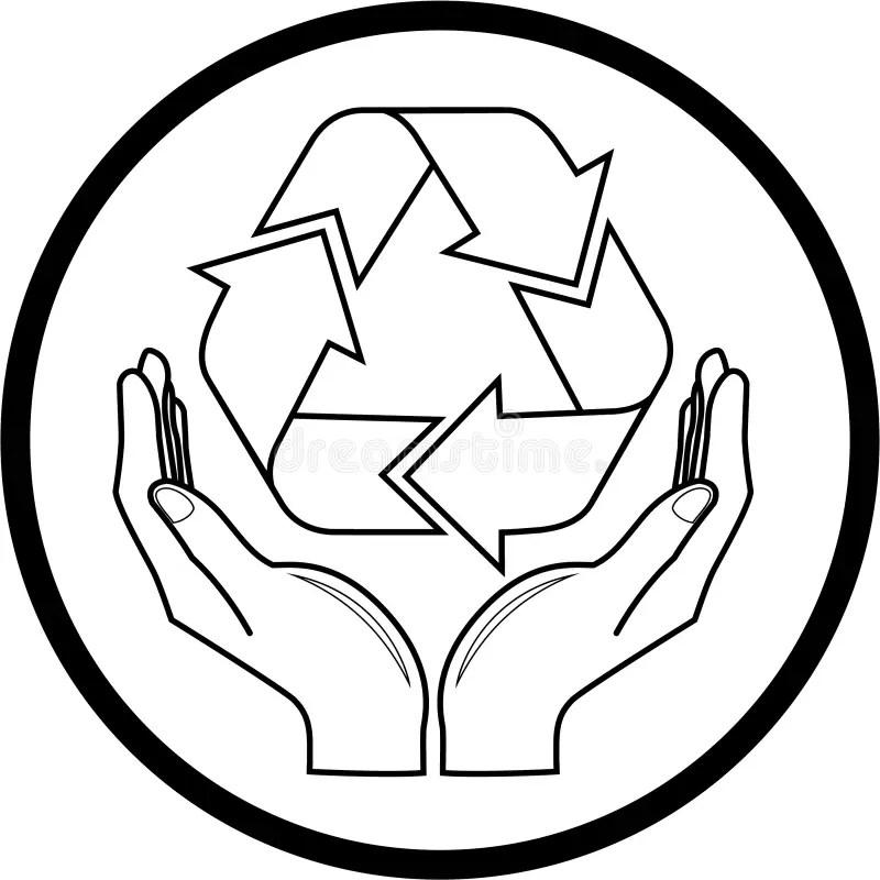 Recycle Symbol 6