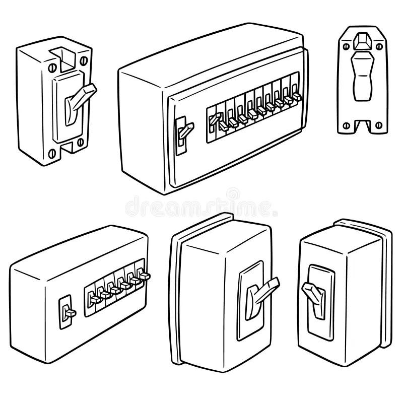 Breaker Switch Stock Illustrations