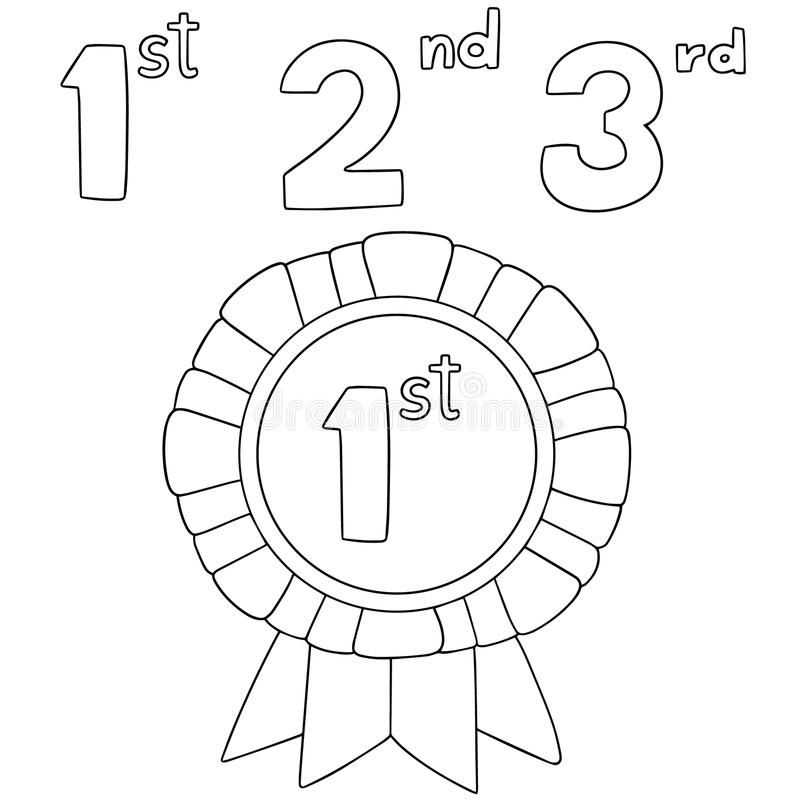 Vector of medal stock vector. Illustration of medallion