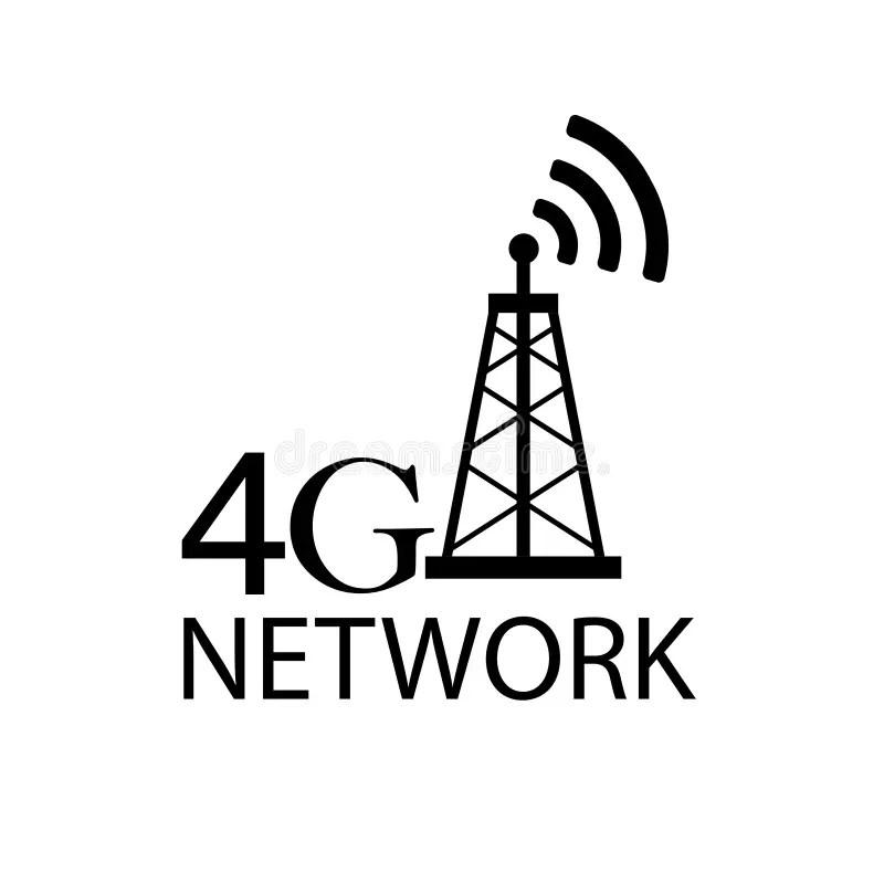 4g logo icon stock illustration. Illustration of website