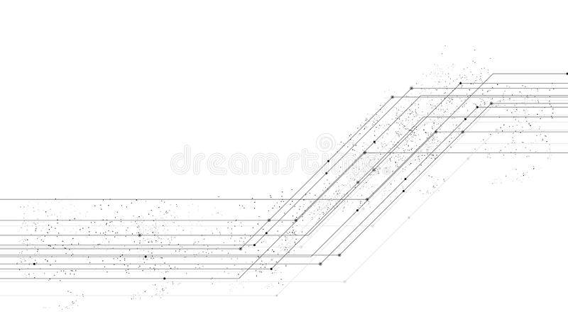 Vector Background Abstract Technology Communication Data