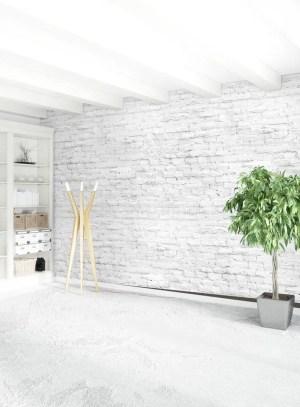 minimalism empty vertical stylish interior rendering