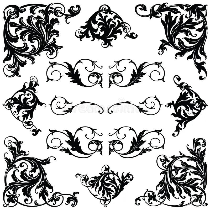 Victorian Ornament stock vector. Illustration of classic