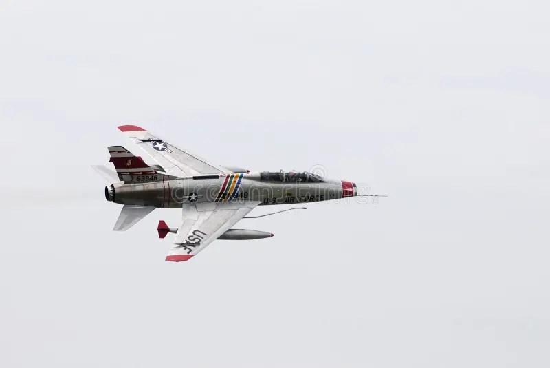 Vietnam War Era American Fighter Jet Editorial Photo
