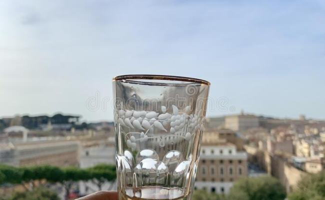 Glass Of Prosecco Stock Photo Image Of Sparkling Morning