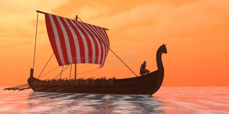 Viking Ship Sails Template