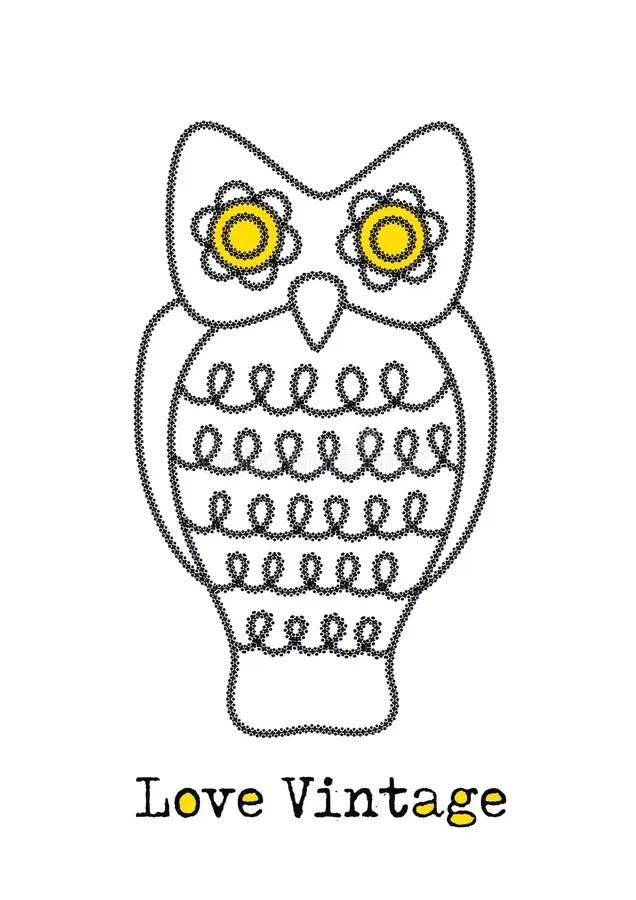Swirly owl stock vector. Illustration of attack, moon
