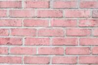 Vintage Pastel Pink Color Brick Wall Horizontal. Clean ...