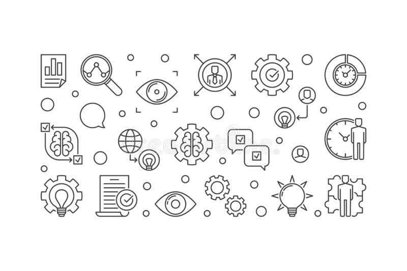 Vision Statement Stock Illustrations