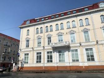building historic government town editorial vladivostok russia february