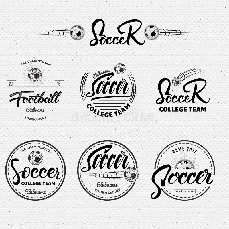 Voetbal, De Van Letters Voorziende Kentekens Van De