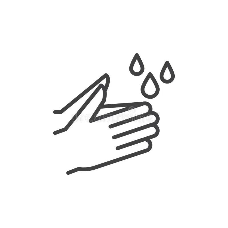 Wash Hands Stock Illustrations