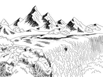 Waterfall Black White Stock Illustrations 1 411 Waterfall Black White Stock Illustrations Vectors & Clipart Dreamstime