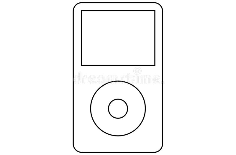 New Apple IPod Shuffle Multicolor Editorial Stock Photo
