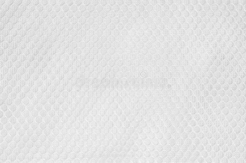 White Fabric Texture Background. Clothing Material