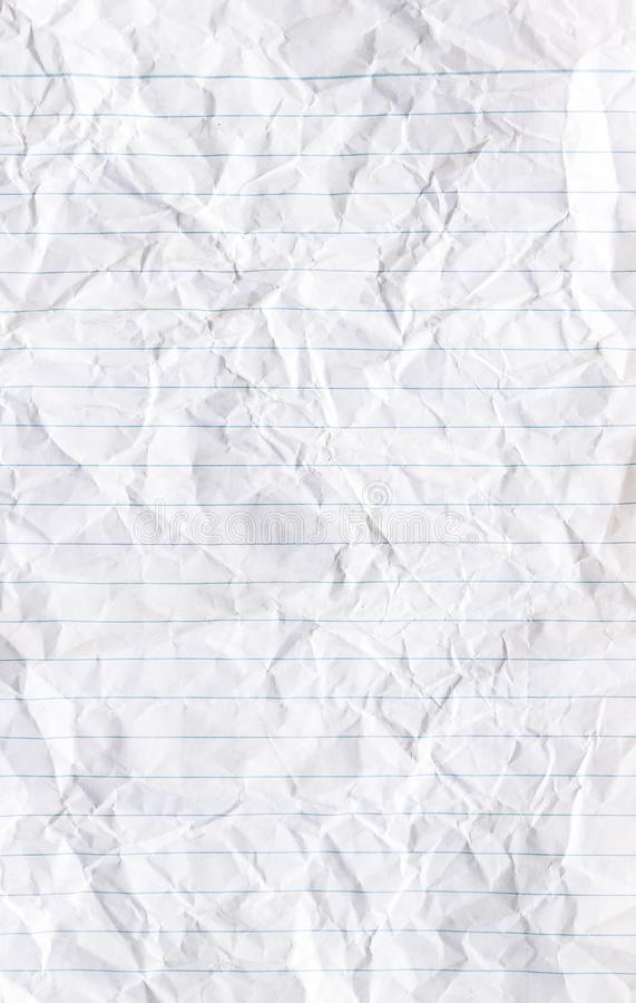 Notepad Paper Sheet stock image. Image of single, business