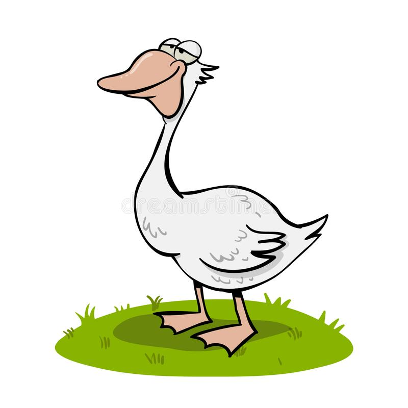 sleepy duck stock illustrations
