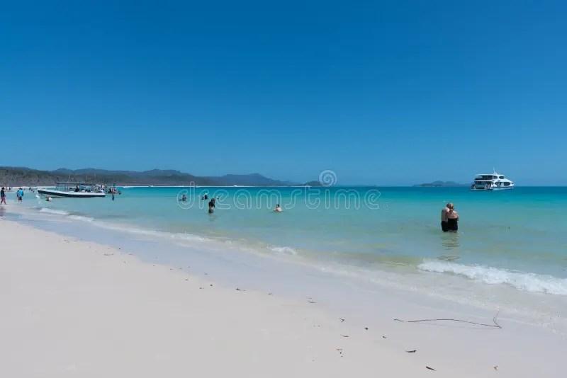 Whitehaven Beach. Hamilton Island. Australia Editorial Photo - Image of climate. tropical: 141959746