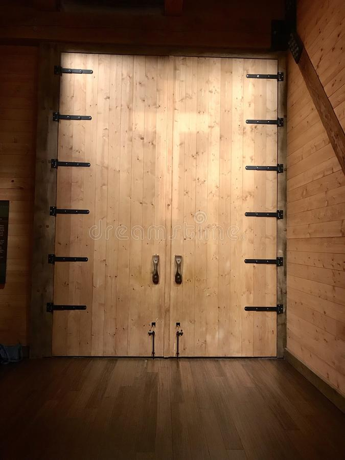 Door With Cross On The Ark At Ark Encounter Theme Park