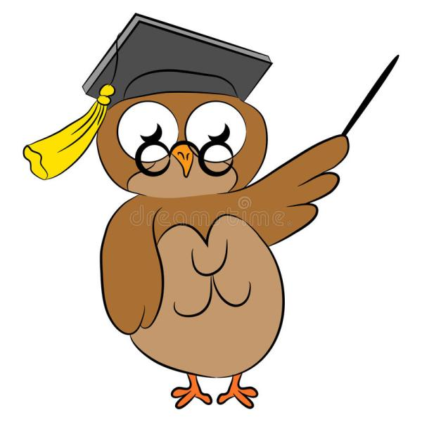 Wise Owl Stock Vector. Illustration Of Education - 56992987