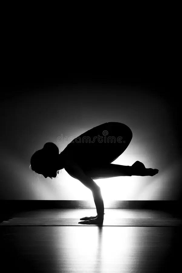 Black Crow Yoga : black, Photos, Royalty-Free, Stock, Dreamstime