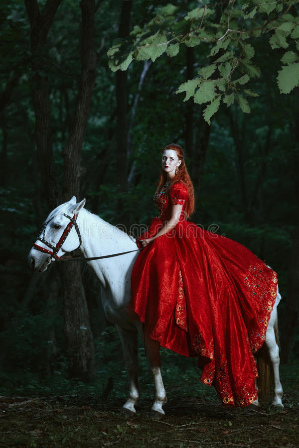 Horse Riding Wallpaper Hd Woman Dressed In Medieval Dress Stock Photo Image Of
