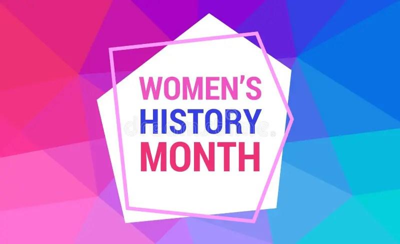 women history month stock illustrations