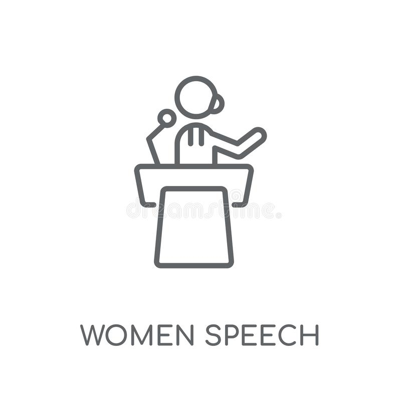 Women Conference Stock Illustrations