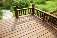 House Wooden Deck Wood Outdoor Backyard Patio In Garden ...