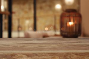 background living table blurred abstract wooden
