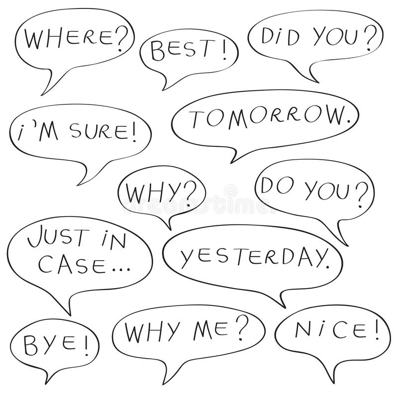 Original Speech Bubble In Purple And Pink Color With