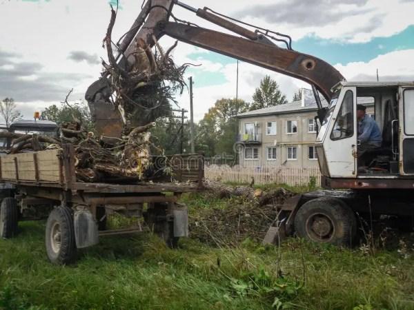 excavators stock