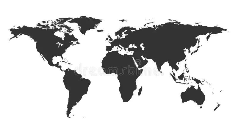 Map World Stock Illustrations