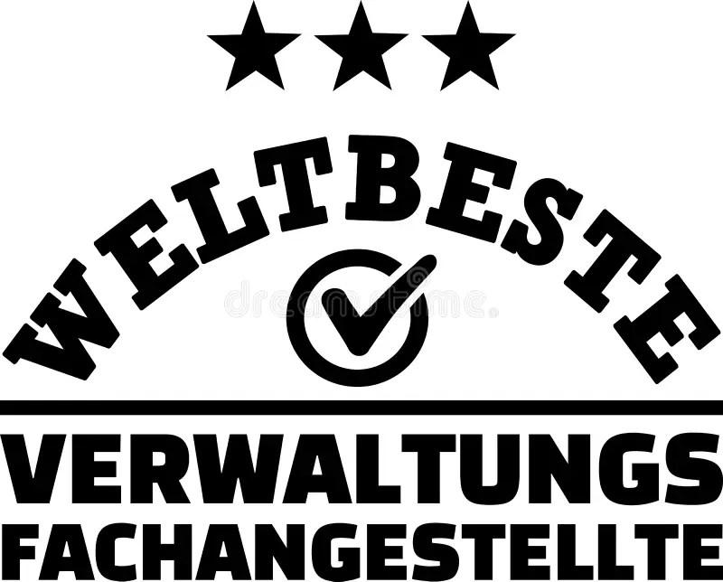 Administrative Assistant Female Retro German Stock Vector