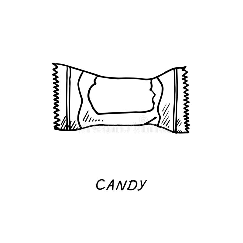 Hard Candy Stock Illustrations