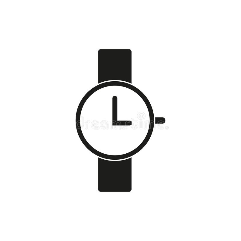 Classic alarm clock stock illustration. Illustration of