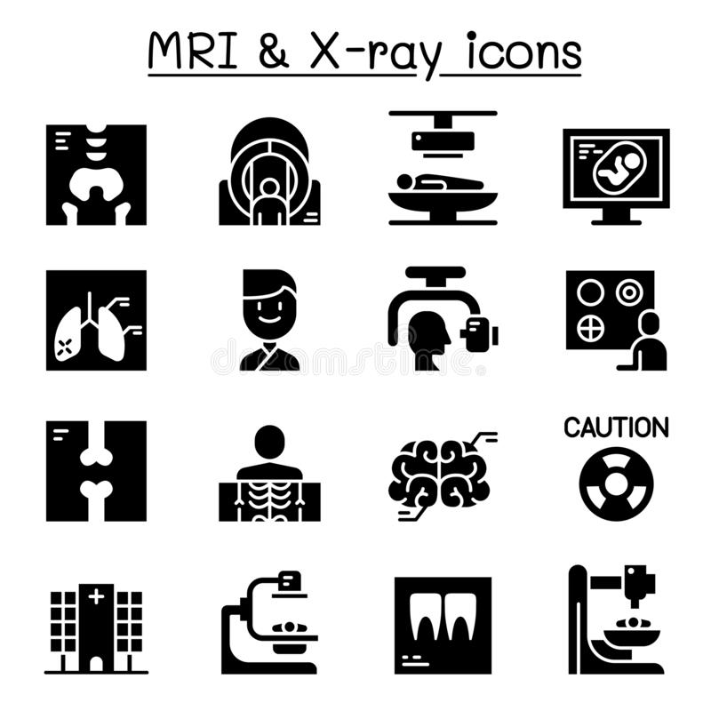 Medical icon vector set stock vector. Illustration of
