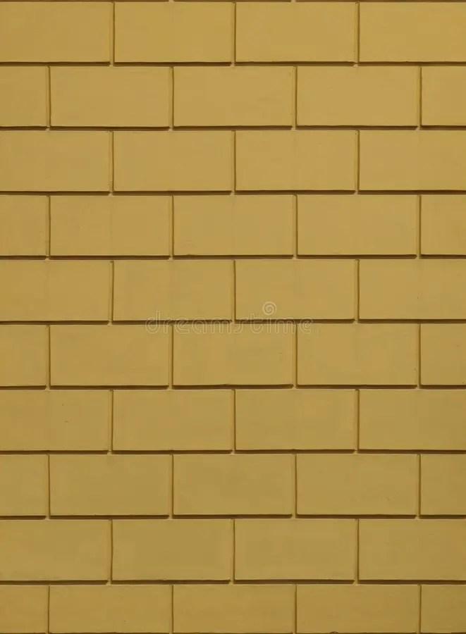 yellow ceramic brick tile wall